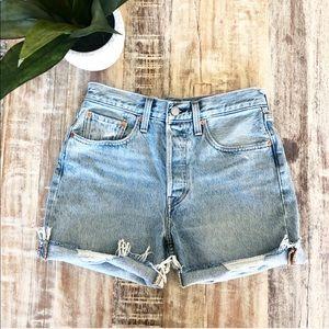Vintage Style Levi Cut Off Shorts